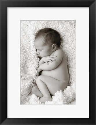Framed Arms Crossed Print