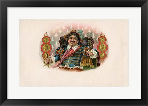 Framed Vintage Cigar Label II Print