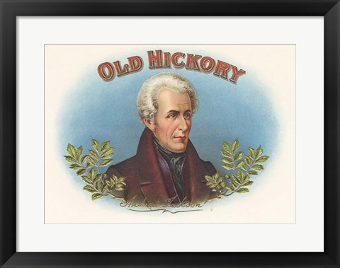 Framed Old Hickory Print