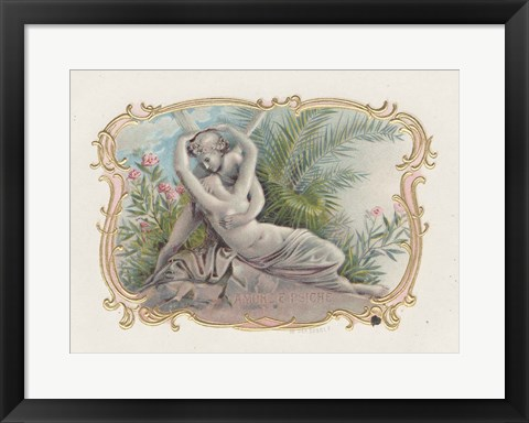 Framed Vintage Cigar Label I Print