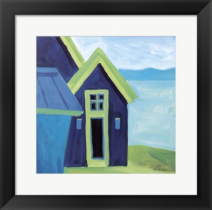 Framed Little John House Print