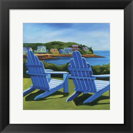 Framed East Boothbay Print