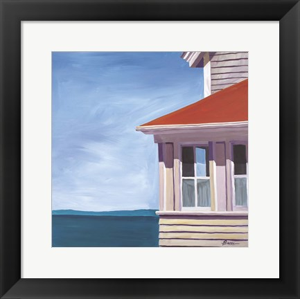 Framed Lightkeepers House Print