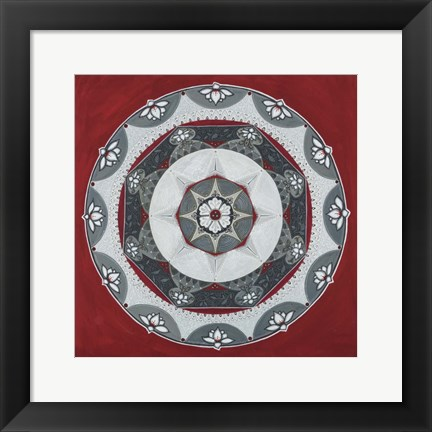 Framed Everything Mandala Print