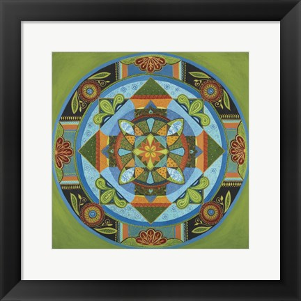 Framed Next Year Mandala Print