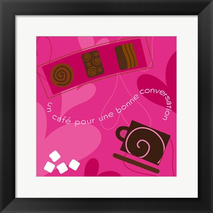 Framed Coffee and Chocolates Print