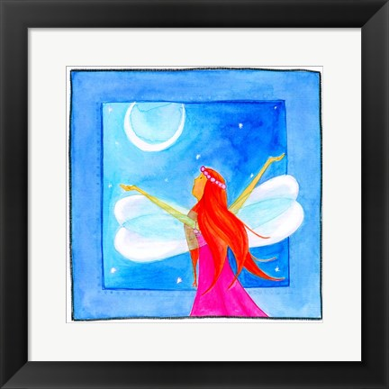 Framed Fairy Print