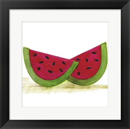 Framed Water Melon Print