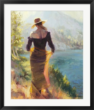 Framed Lady of the Lake Print