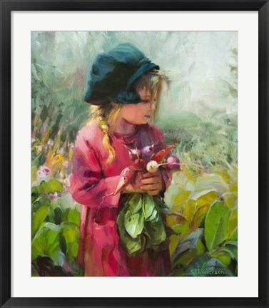Framed Child Of Eden Print