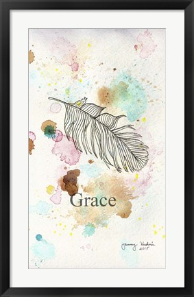 Framed Grace Print