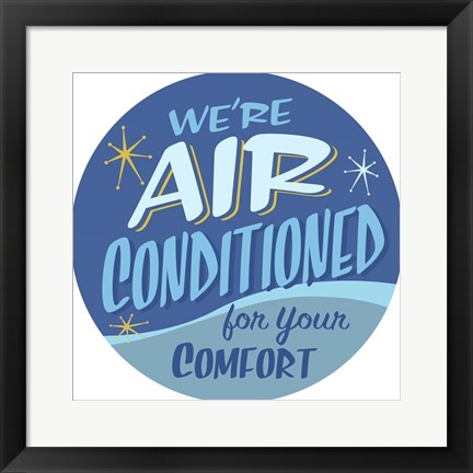 Framed Air Conditioned Print