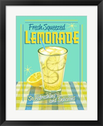 Framed Lemonade 2 Print
