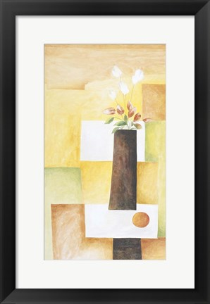 Framed Floral Arrangement 3 Print