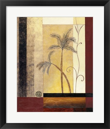 Framed Exotic Palm II Print