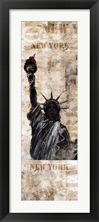 Framed Liberty Expression Print