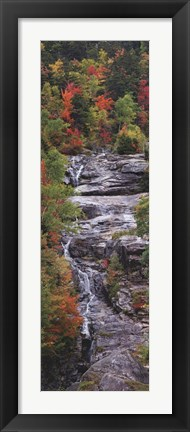 Framed Falling Waters Panel Print