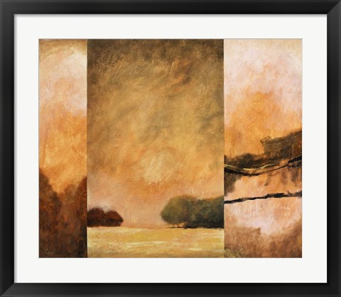 Framed Country Abstract II Print