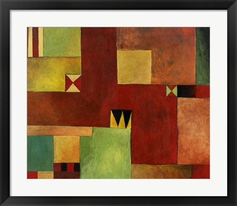 Framed Geometric II Print