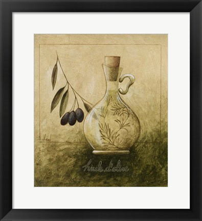 Framed Olive Oil II Print