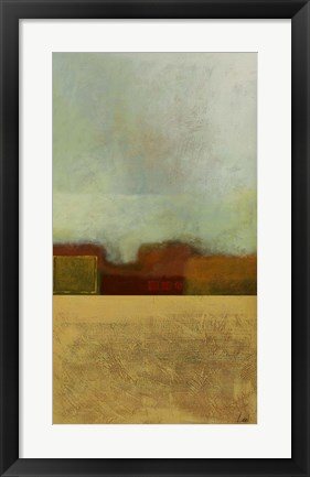 Framed Country Abstract I Print