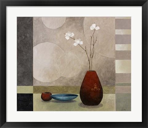 Framed Still Life I Print