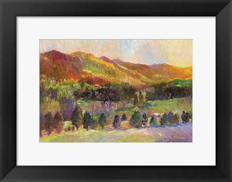Framed Colorado Sunset Print