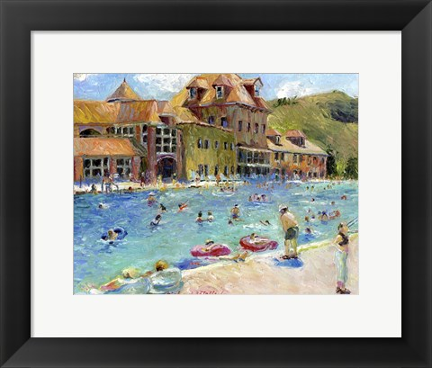 Framed Glenwood Springs Print