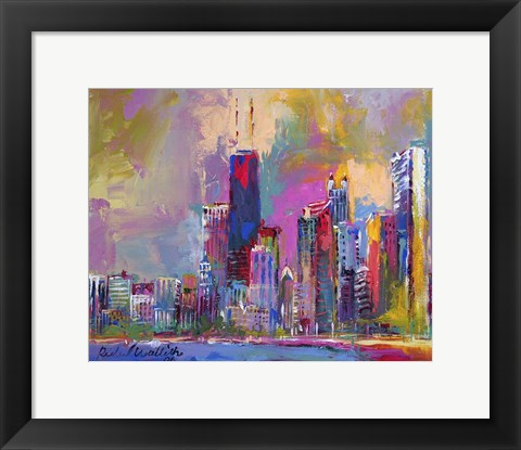 Framed Chicago 4 Print