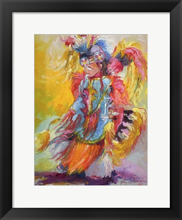 Framed Young Dancer Print
