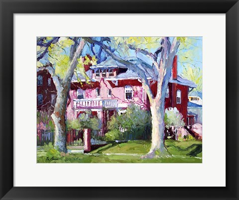 Framed Mansion 1 Print