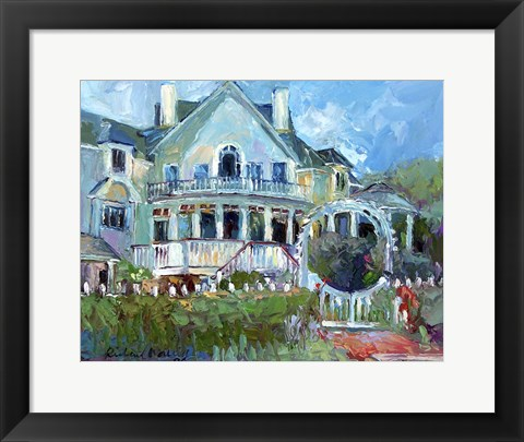 Framed Mansion 2 Print
