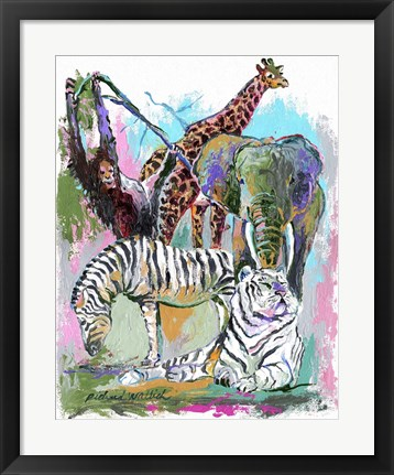 Framed Animals Print