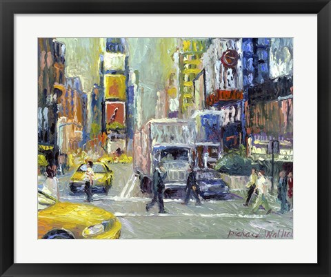 Framed Times Square Print