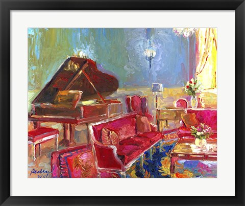 Framed Piano Bar 2 Print
