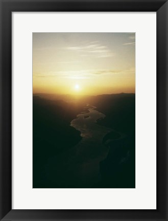 Framed Columbia River Print