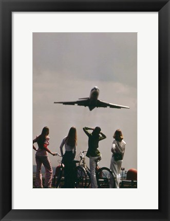 Framed Takeoff Print