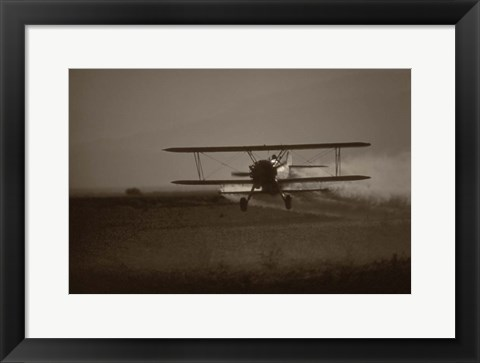 Framed Crop Duster II Print