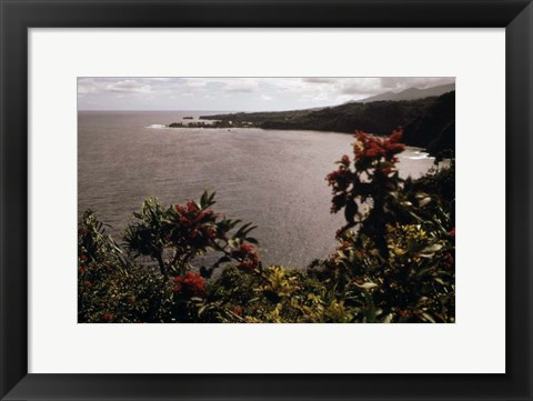 Framed Honomanu Bay Print