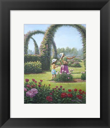 Framed Mother Daughter Day Print