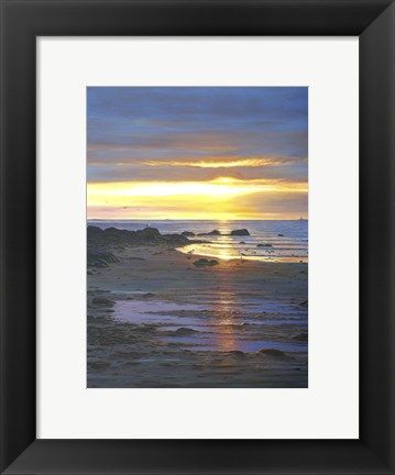 Framed Sunscape Print