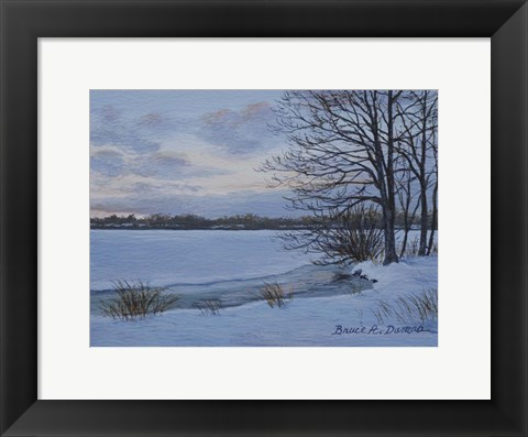 Framed Winter Whisper Print