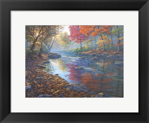 Framed Autumn Glow Print