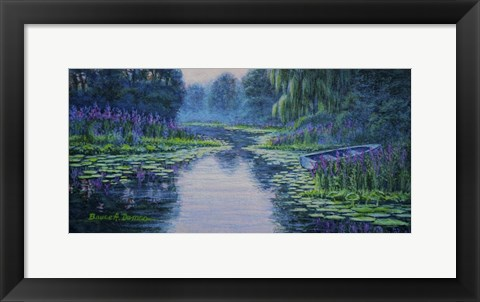 Framed Lilyscape Print