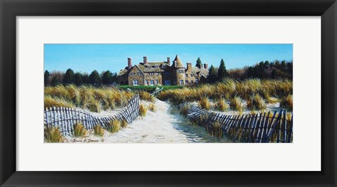 Framed Watch Hill Mansion Print