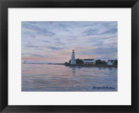 Framed Old Saybrook Light Print
