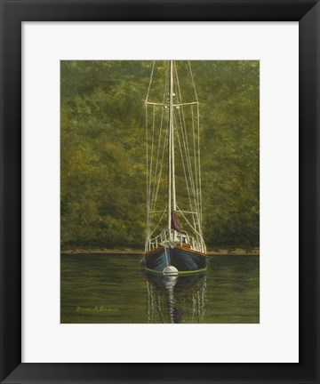 Framed Essex Sailboat Print