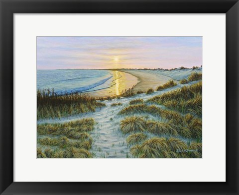 Framed Watch Hill Sunset Print