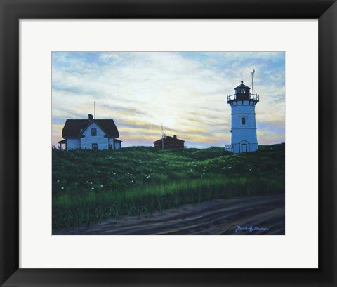 Framed Race Point Light Print