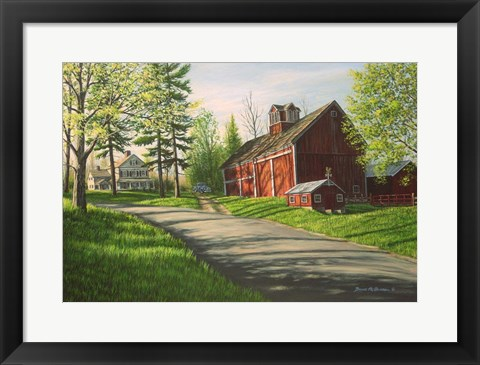 Framed Stuart Farm Print